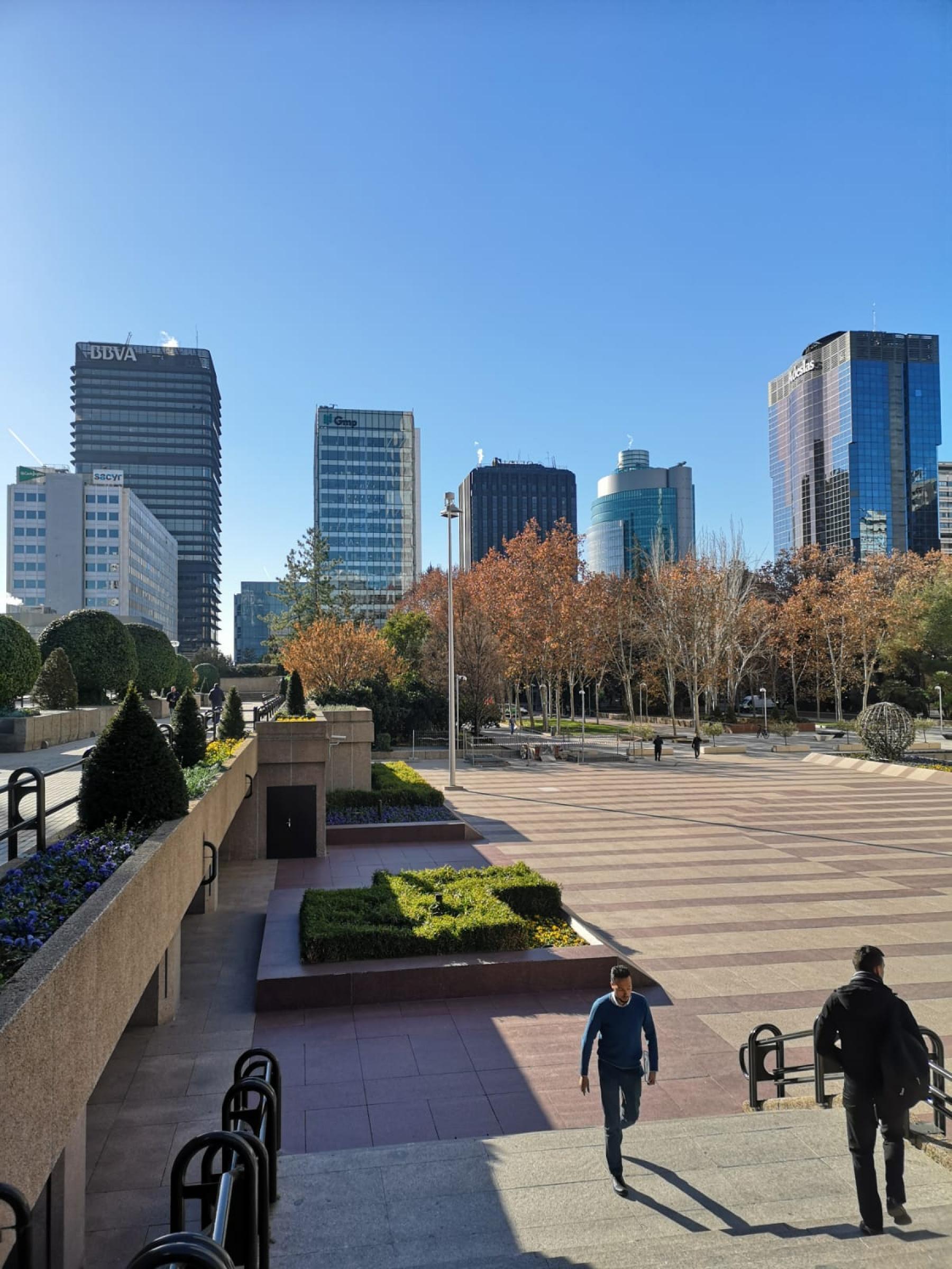Plaza Pablo Ruiz Picasso Azca