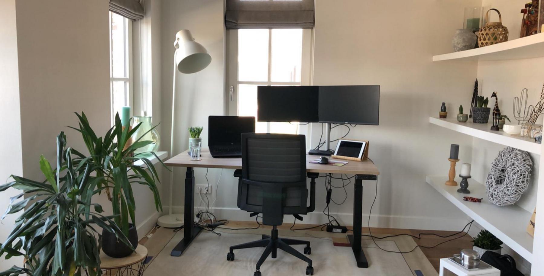 Büro Zuhause Absetzen