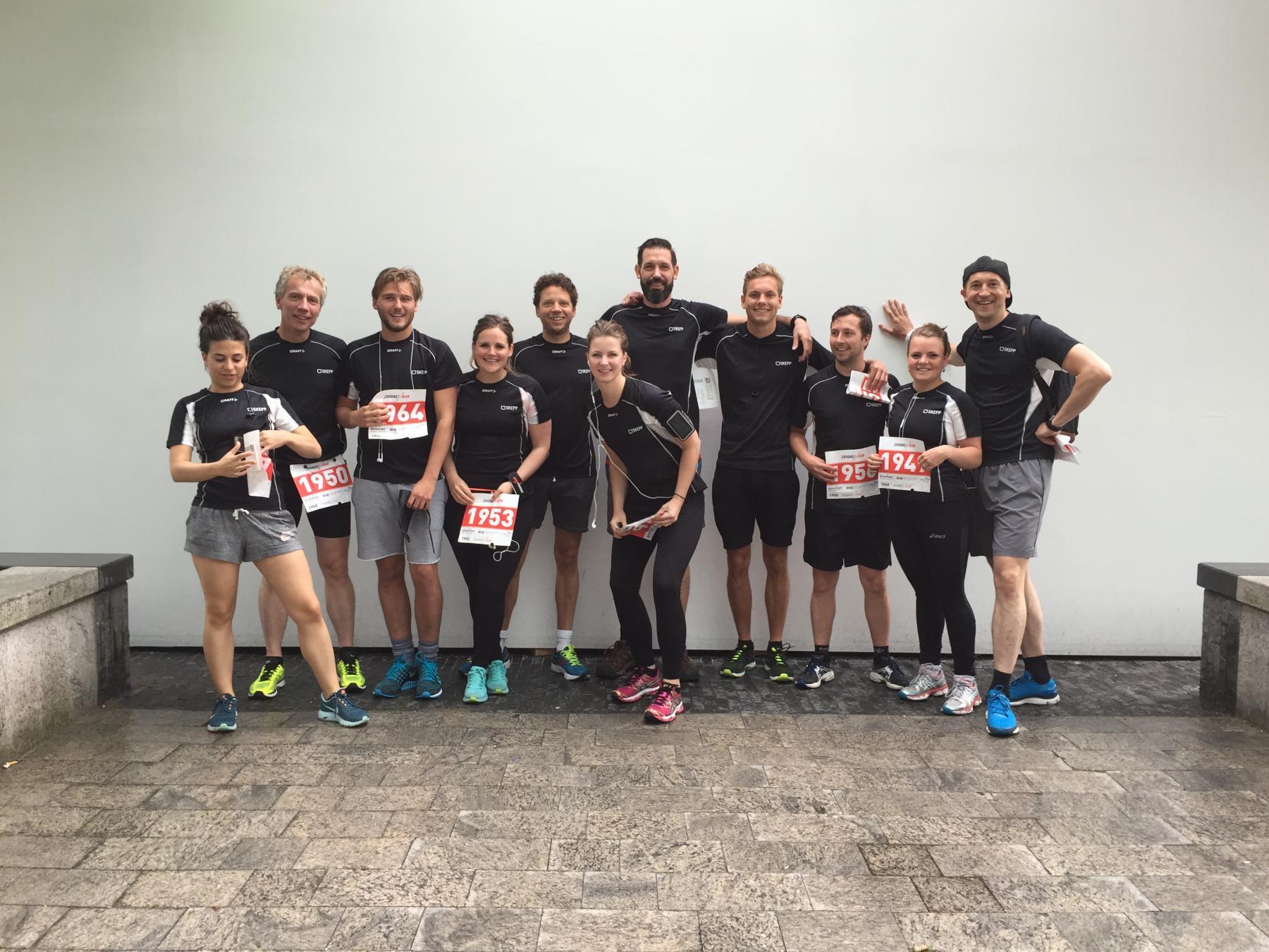 deelnemers SKEPP Zuidas Run 2016 Amsterdam