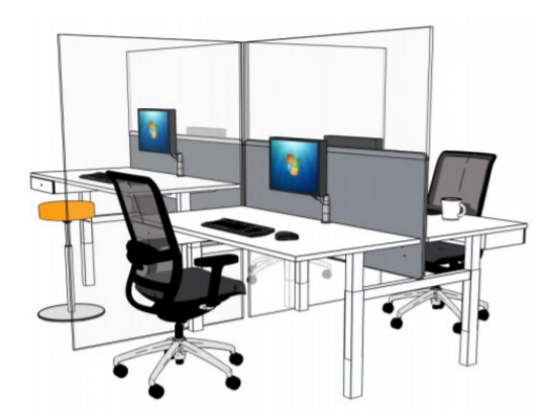 plexiglas schermen in jouw kantoorinrichting