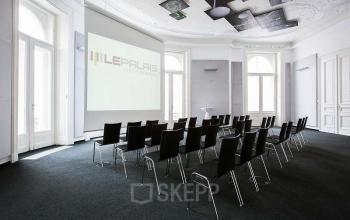 Moderner Konferenzraum im Business Center in Wien, Herrengasse