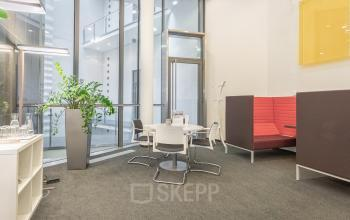 Entrance area of the office building at Herrengasse Vienna