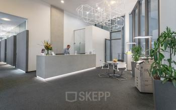 Reception of the office building at Herrengasse Vienna