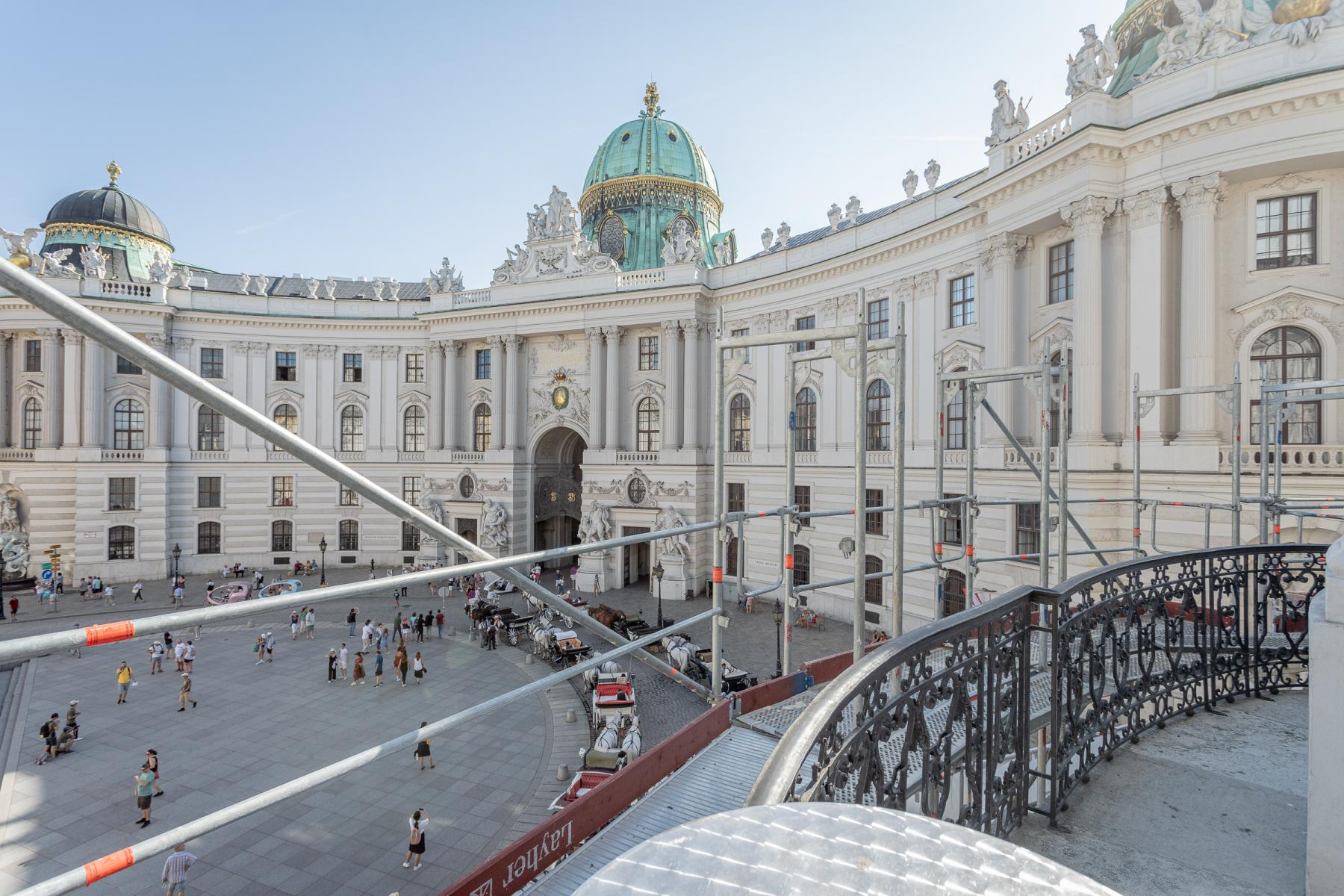 Prestigious neighbourhood of the office building in the first district in Vienna