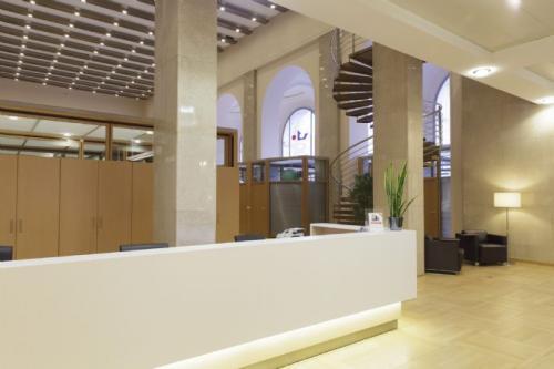Hochwertige Rezeption im Business Center am Schottenring in Wien 1010