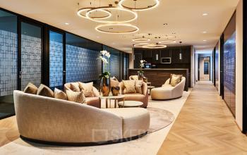 Geschmackvolle Business Lounge im Bürogebäude in 1010 Wien