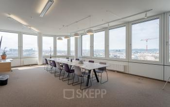 Spacious meeting space in the business center landstrasse vienna