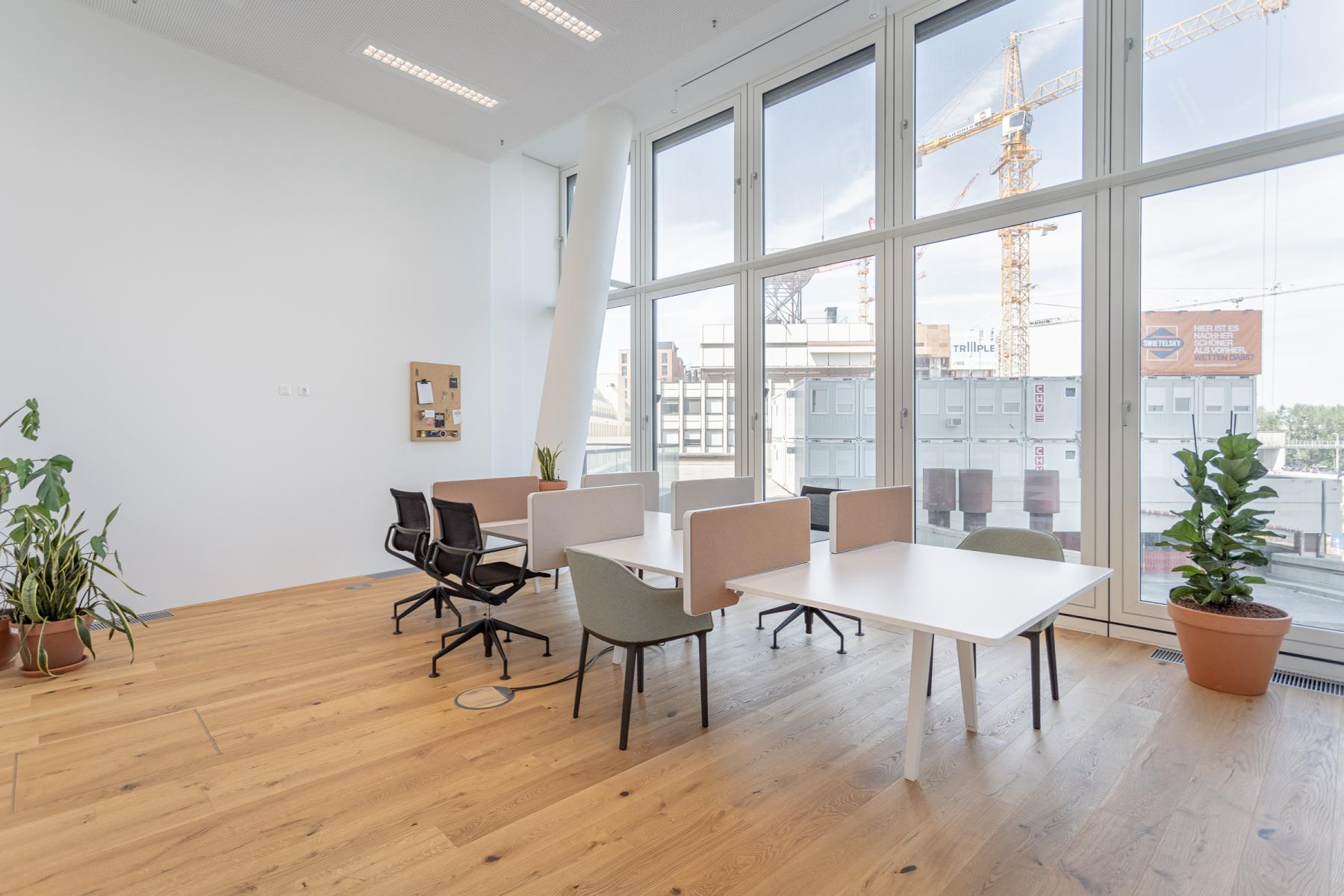 Team offices for rent in business center Vienna Landstrasse