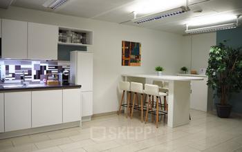 Voll ausgestattete Gemeinschaftsküche der Immobilie in Wien 1040