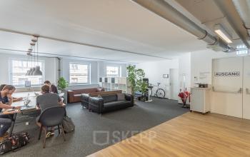 Offener Coworkingspace zur Miete in Wien