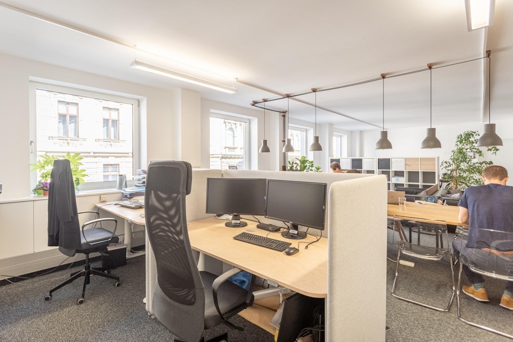 Private Arbeitsplätze im Coworking Space Wien Mariahilf