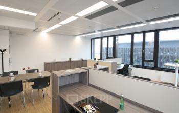 Großer Arbeitsplatz im Business Center in 1100 Wien