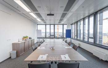 Platz für Meetings gehört zu den Büros zur Miete in Wien