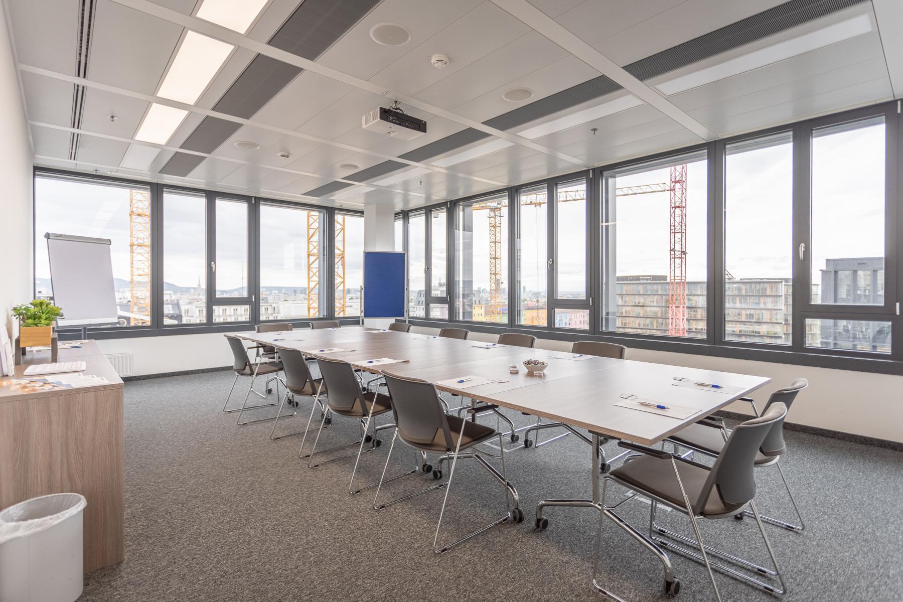 Konferenzraum im Bürohaus Wien Wieden 4.Bezirk