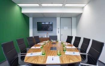 Meetingraum im Bürogebäude in Wien