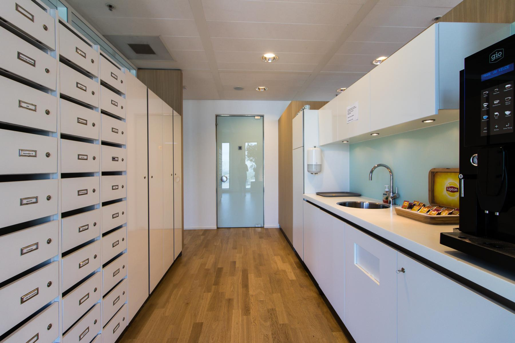 Several pantry's available and coffee included