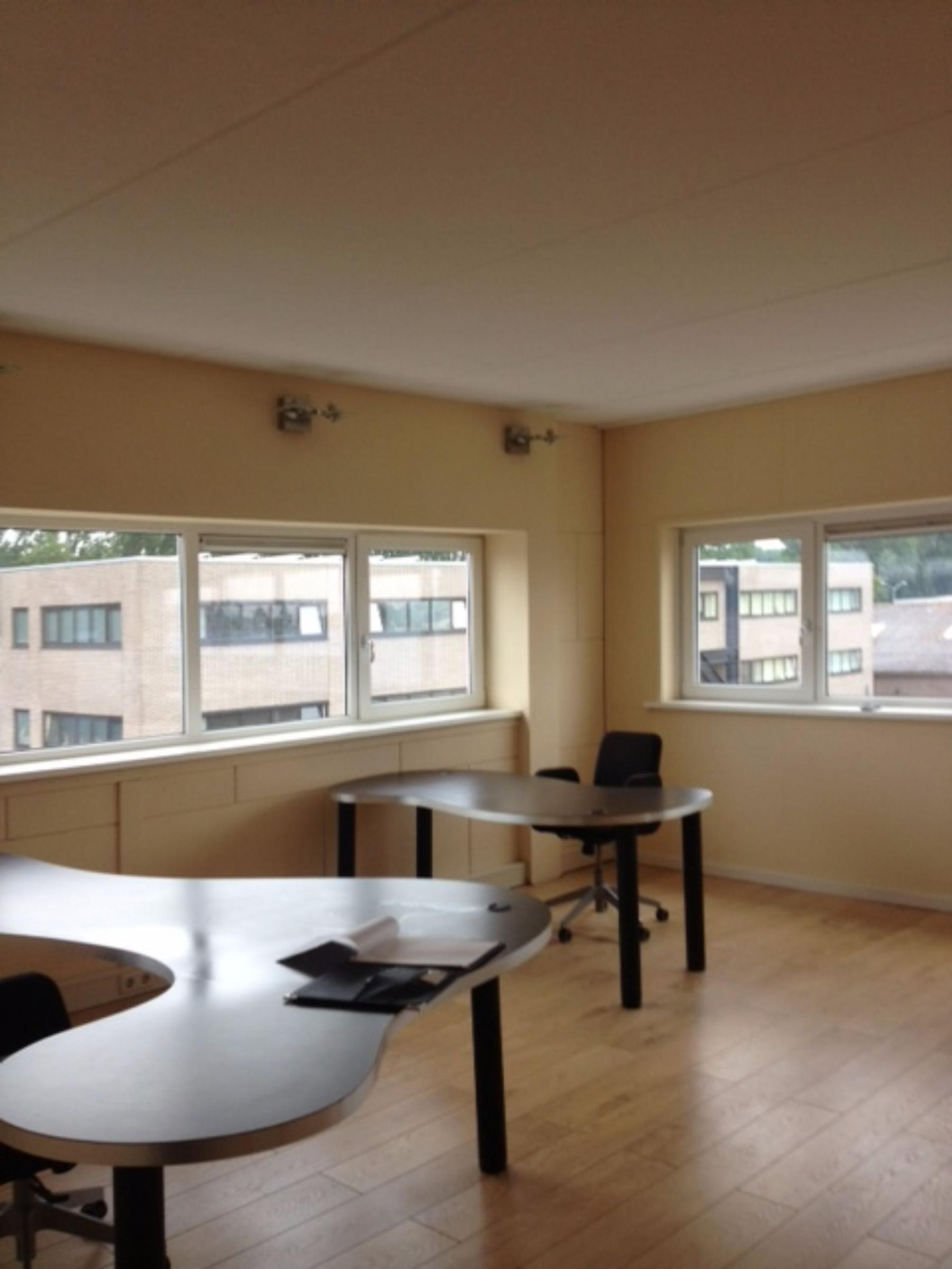 Office space in Alkmaar with table and chairs