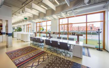 flexwerkplek gemeenschappelijke ruimte kantoorpand amersfoort piet mondriaanplein2