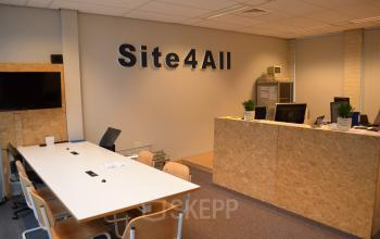 reception desk in office building amersfoort