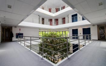 Light and modern office building in Amstelveen