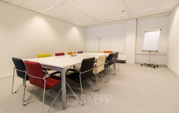 Office building with multiple conference rooms