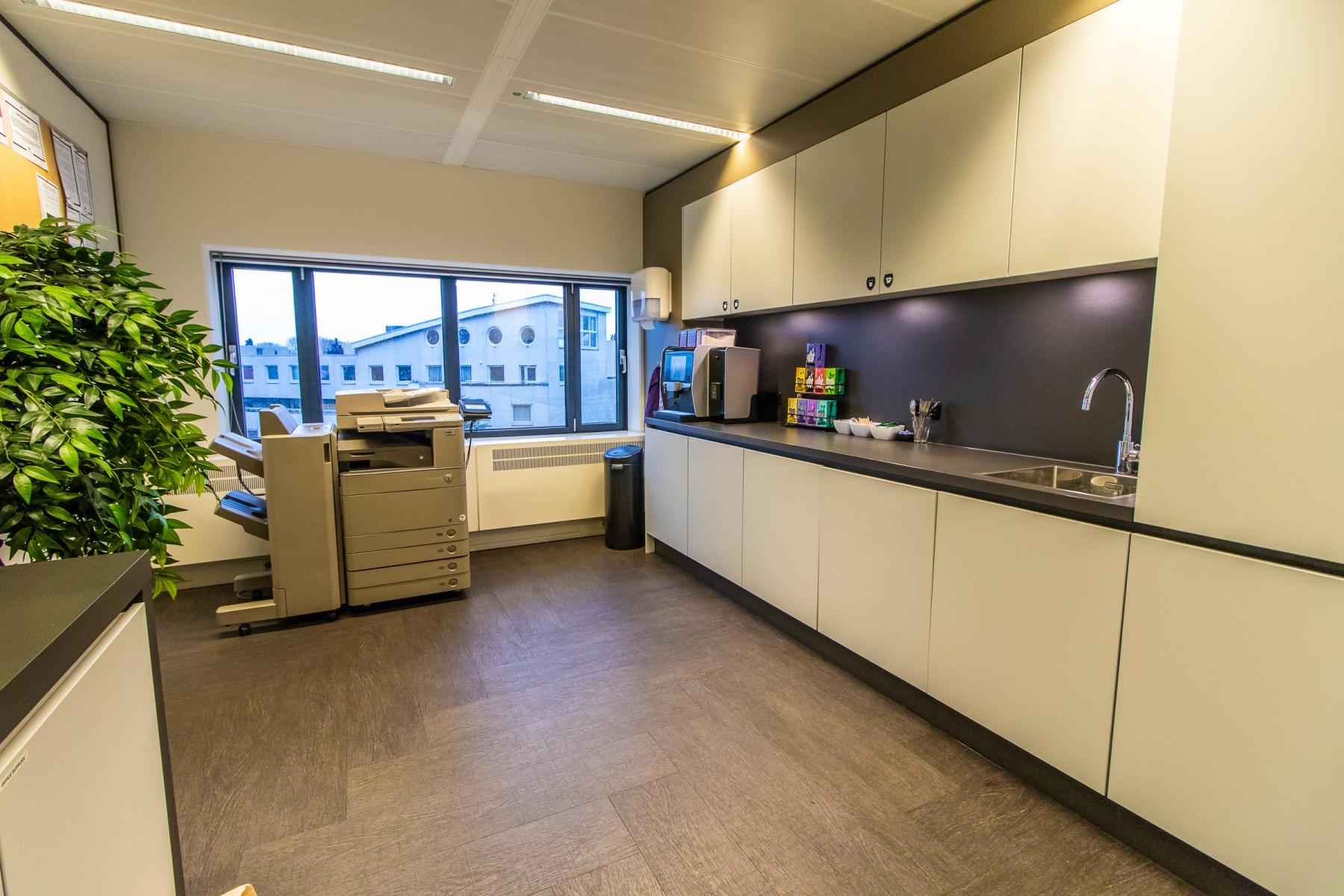 Pantry with modern appliances