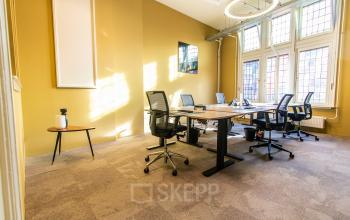 Well lit office space Amsterdam