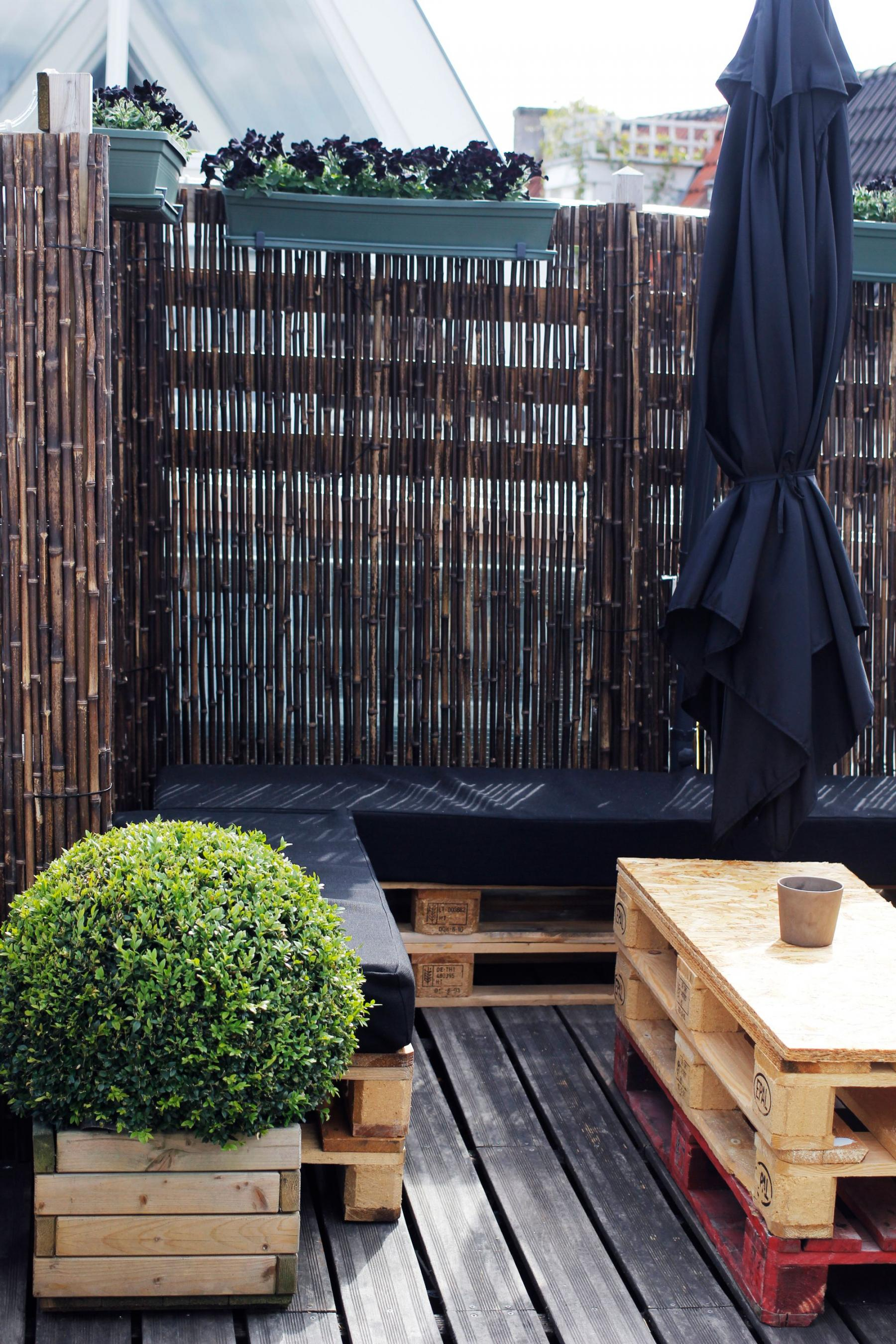 A relaxingroom outside
