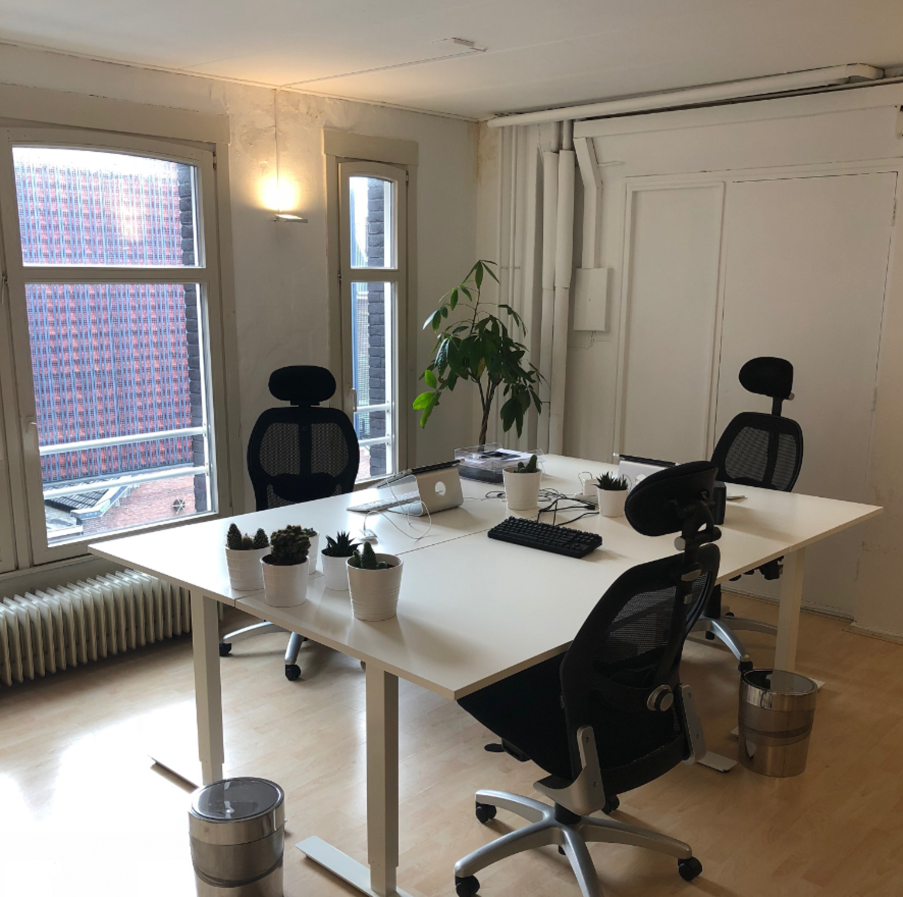 Working spaces in the office space