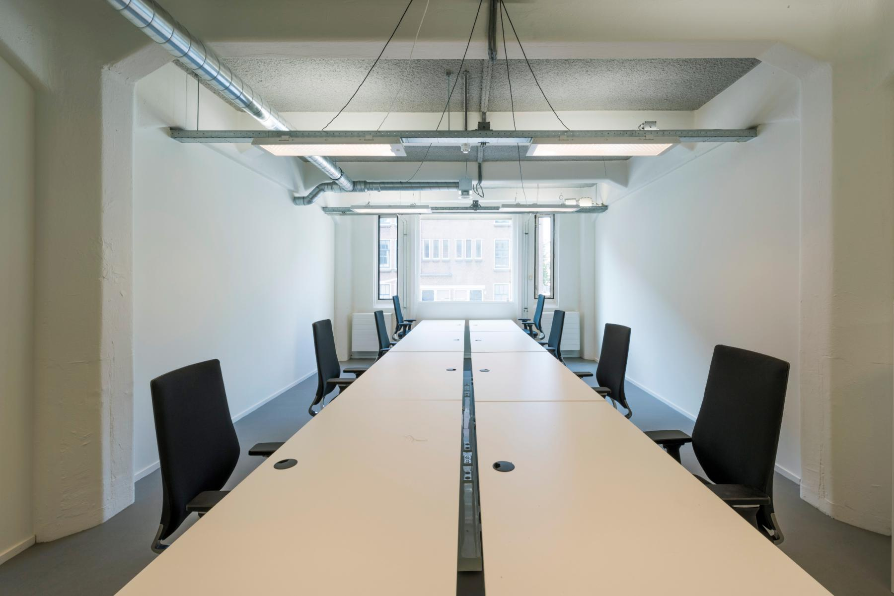 A big office space where you can work