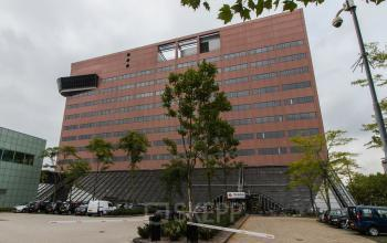 Recently renovated office building