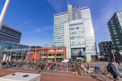Outside office building Amsterdam