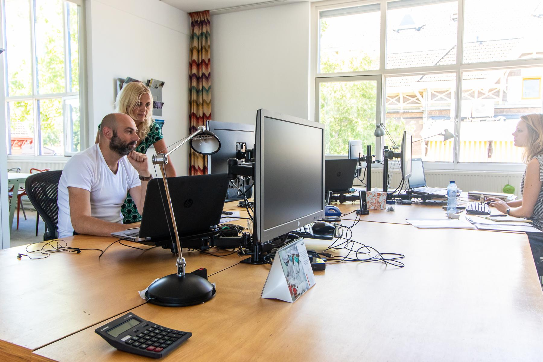Flex desks available