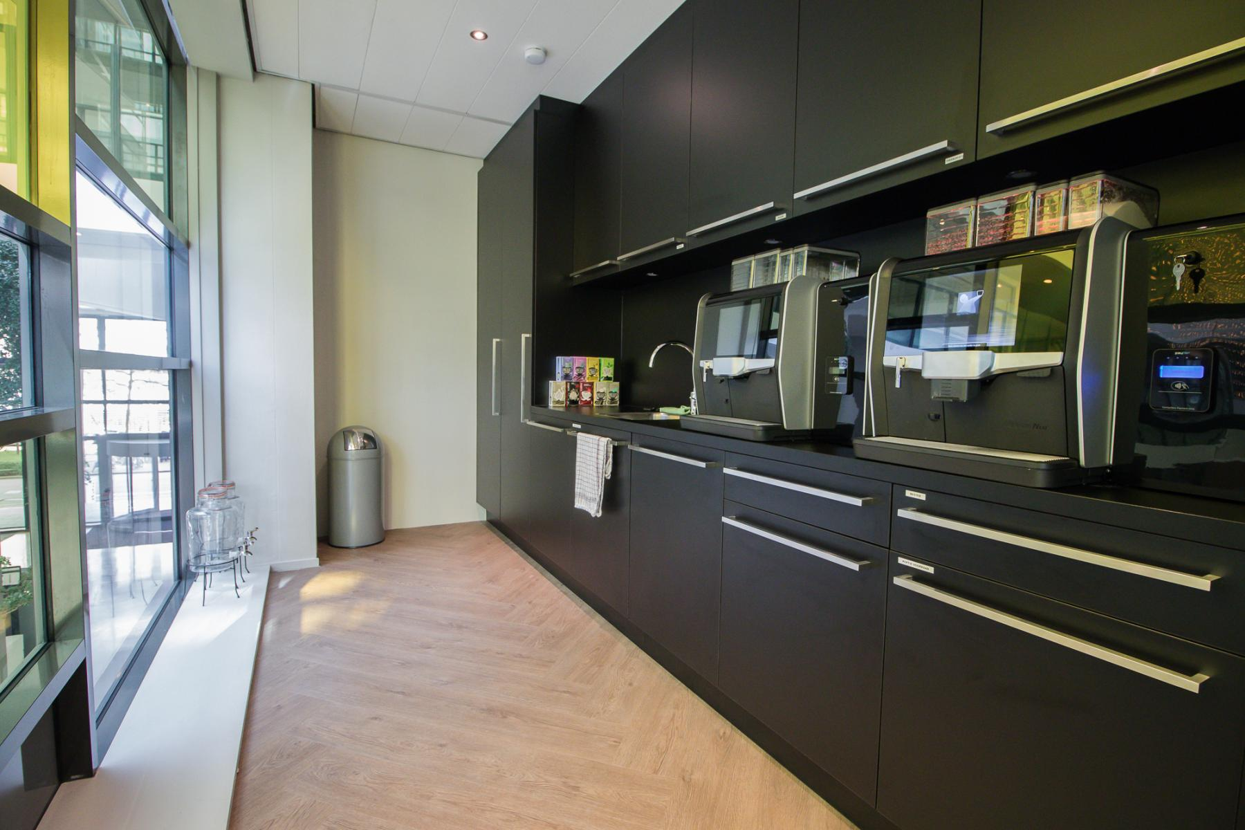 Multiple modern pantry's