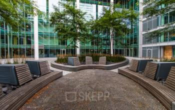 Office with nice garden