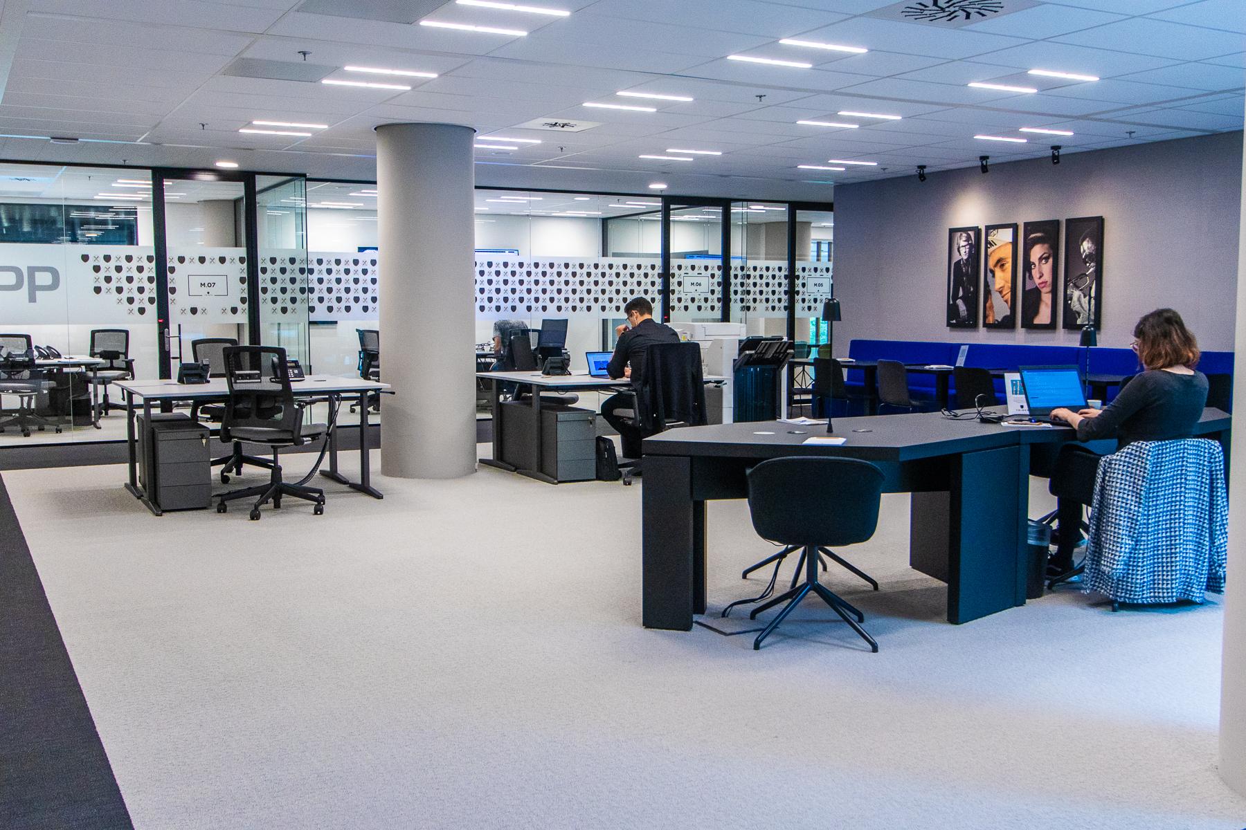 Flex desks Amsterdam