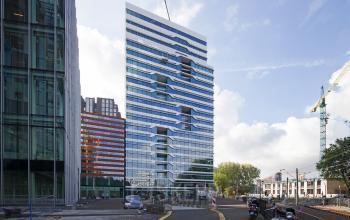 kantoorgebouw buitenzijde aanzicht amsterdam parnassusweg