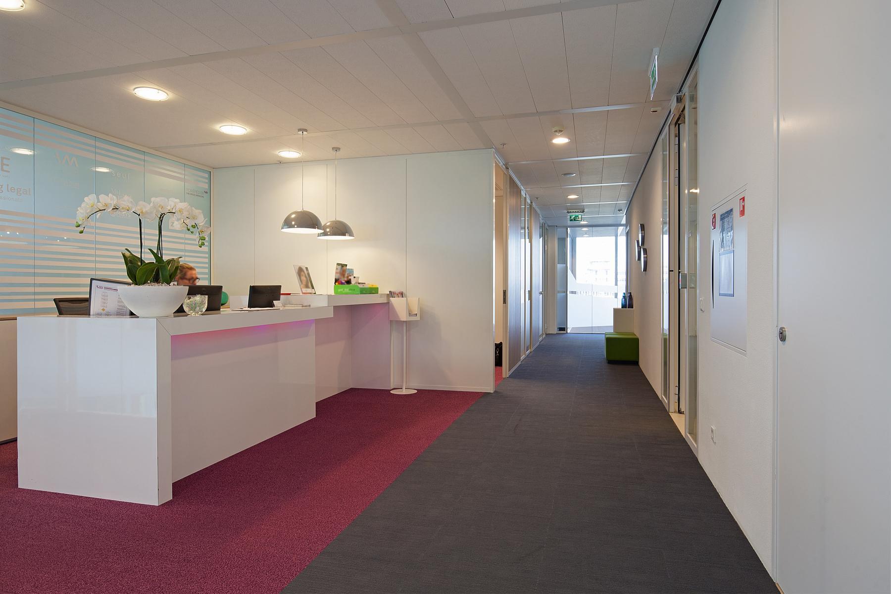gedeelde receptie kantoorgebouw amsterdam parnassusweg