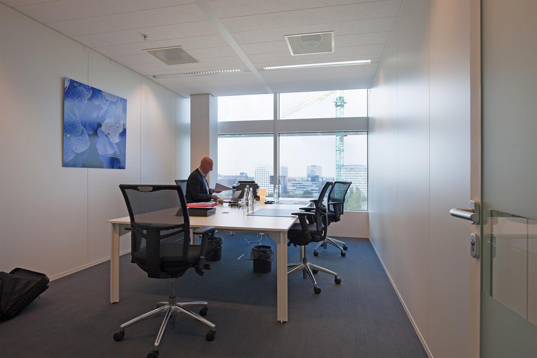 uitzicht kantoorruimte amsterdam huren parnassusweg