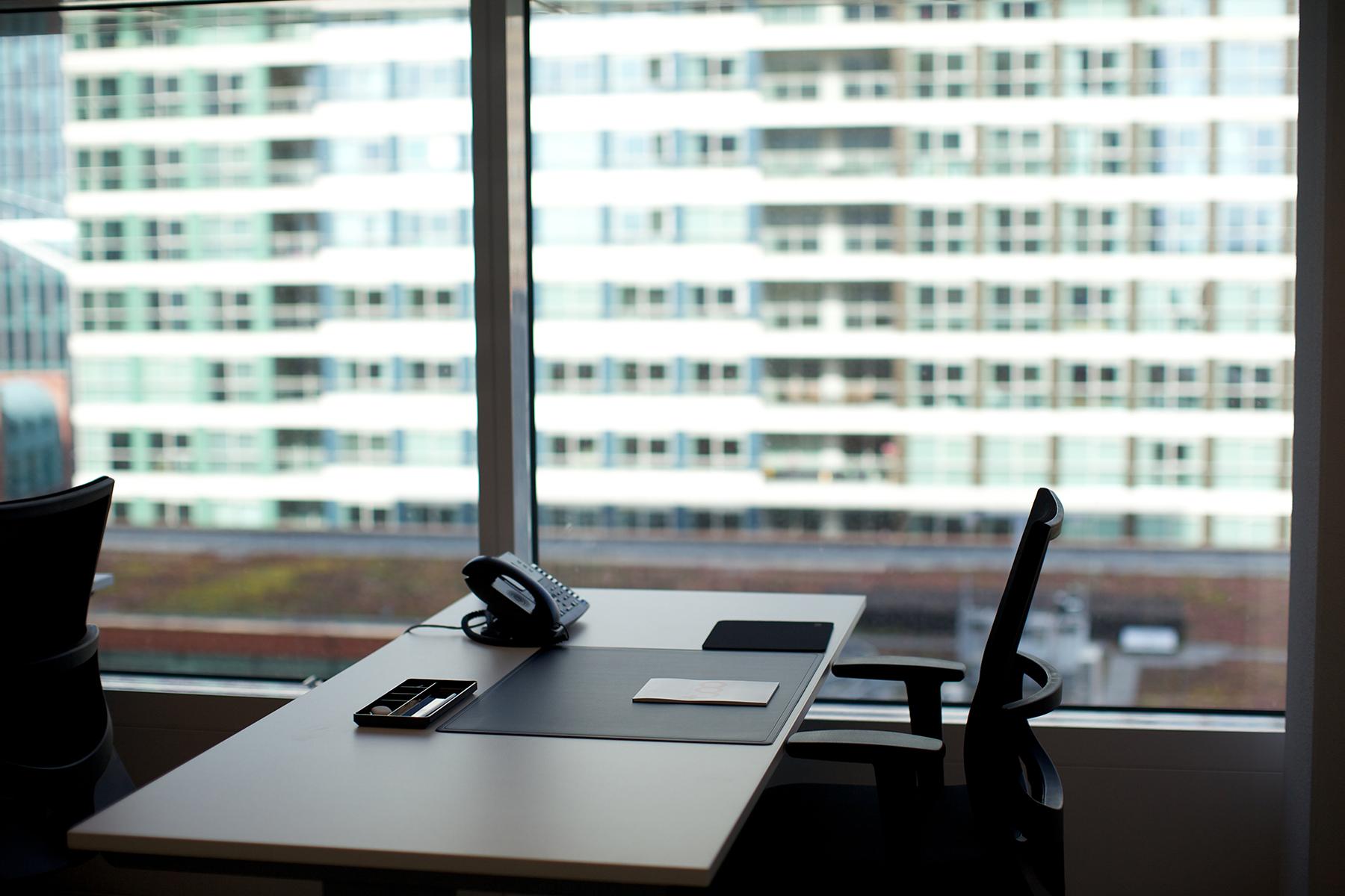 werkplek zuidas Amsterdam prachtig uitzicht