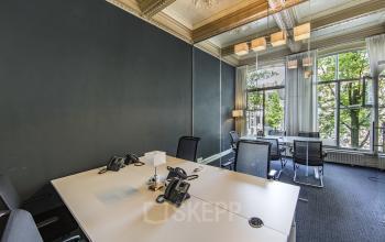 overzicht kantoorruimte boven herengracht amsterdam