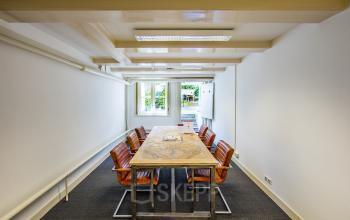 overzicht vergaderruimte uitgang tuin amsterdam