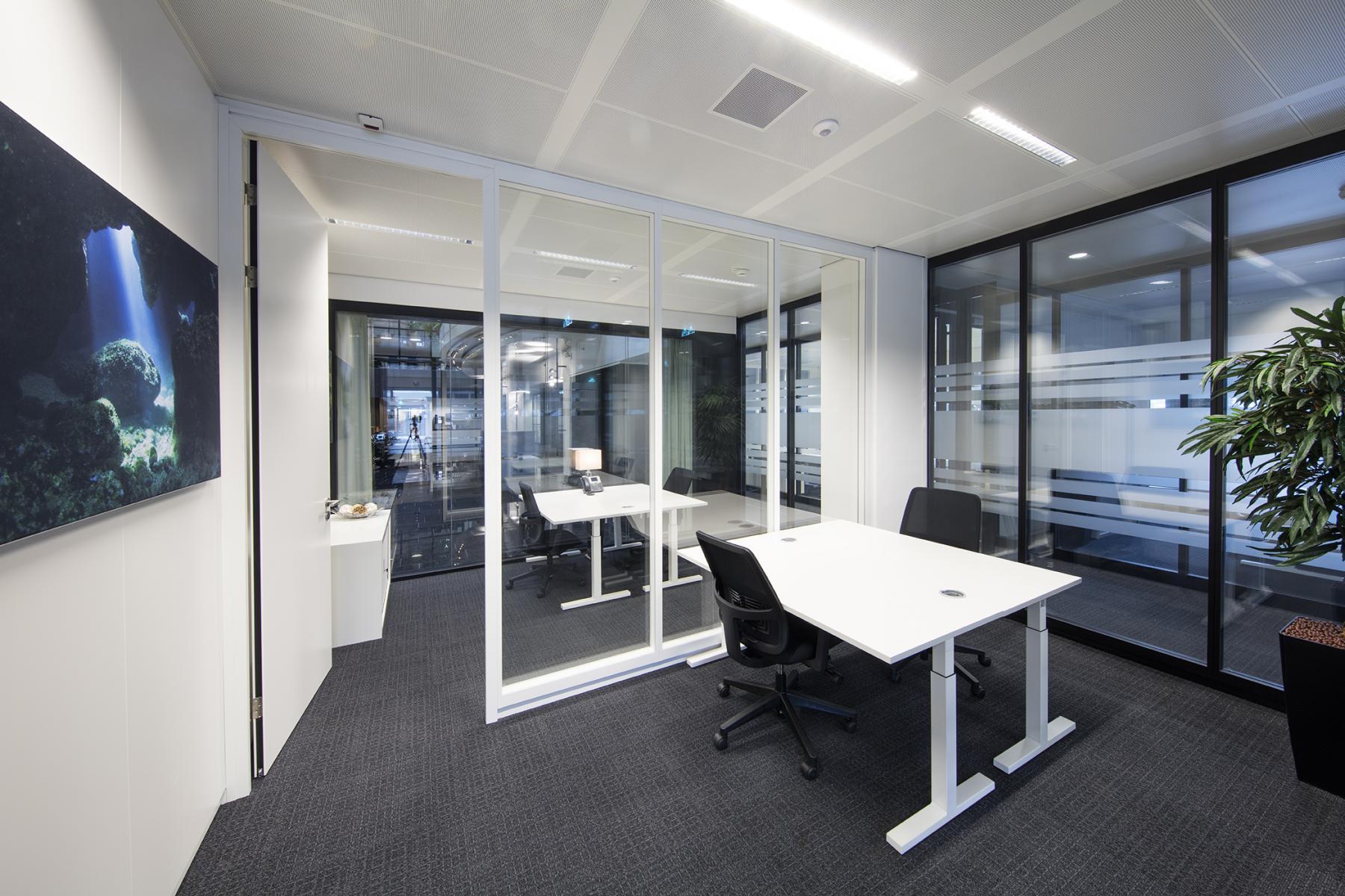kantoorruimte kantoorkamer werkplek kantoorpand Amsterdam