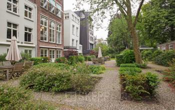 tuin te huur terras kantoorruimte herengracht amsterdam skepp boom