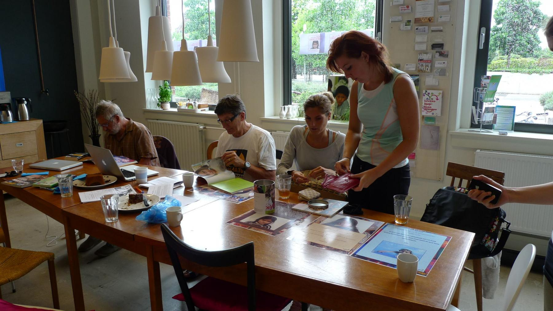 lunchruimte in kantoorpand Amsterdam Haarlemmerweg
