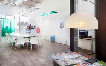prachtig sociaal hart in kantoorpand op mooie locatie in Amsterdam