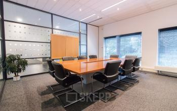 Multiple conference rooms in the office building available