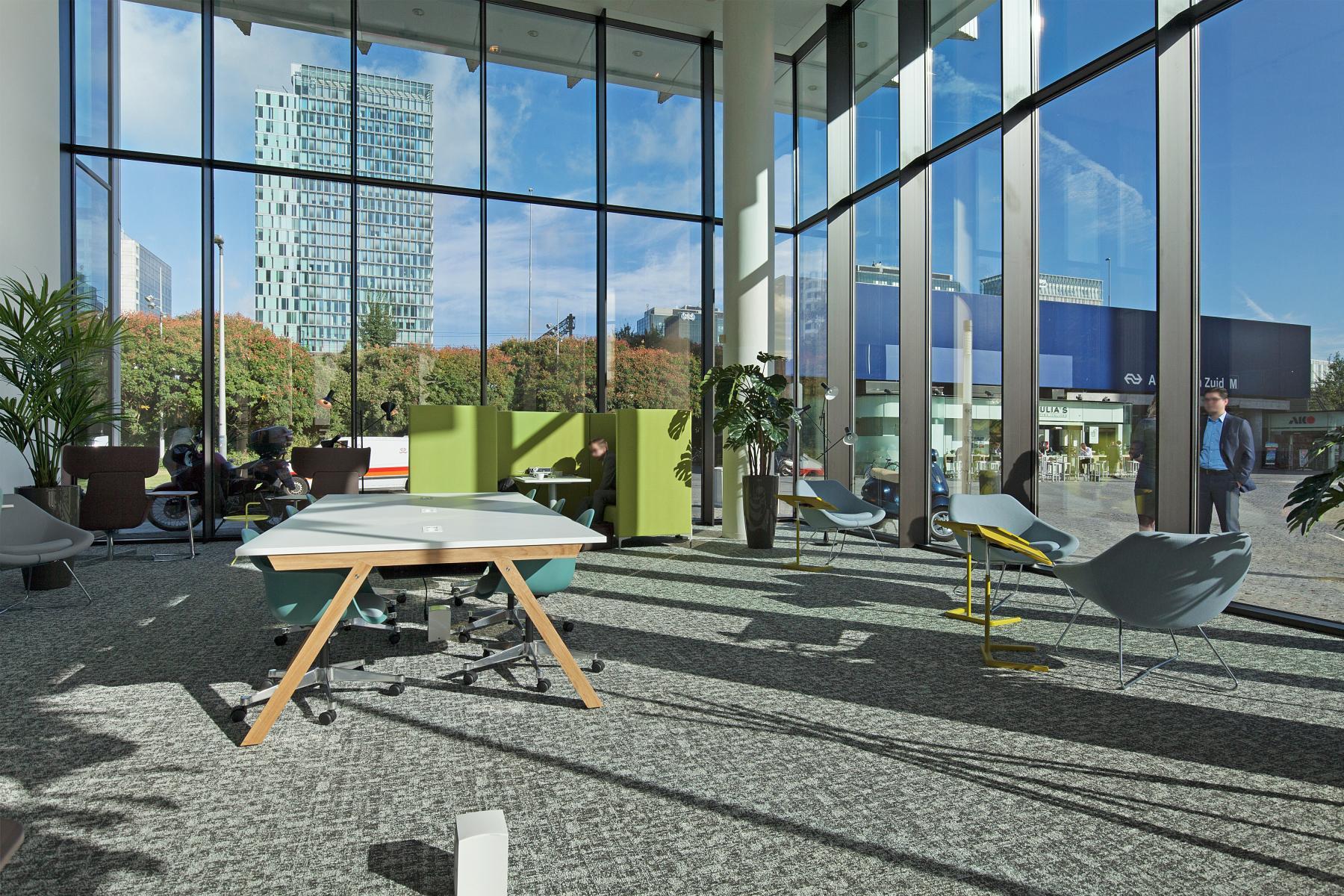 ontvangstruimte entree kantoorpand Amsterdam SKEPP