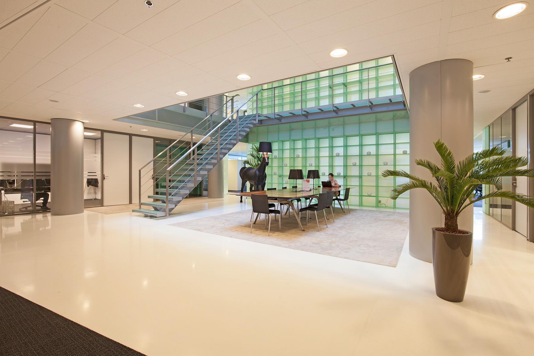 sociaalhart meubilair kantoorruimte kantoorgebouw