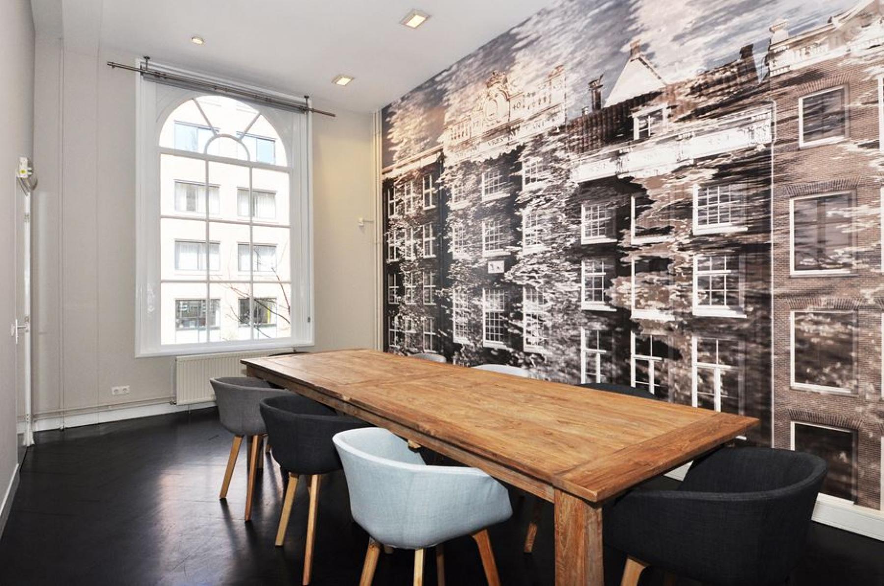 moderne gemeubileerde vergaderzaal amsterdam rapenburgerstraat huren